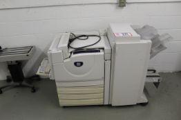 Xerox Pager 7760 Printer w/ Folder, Etc.
