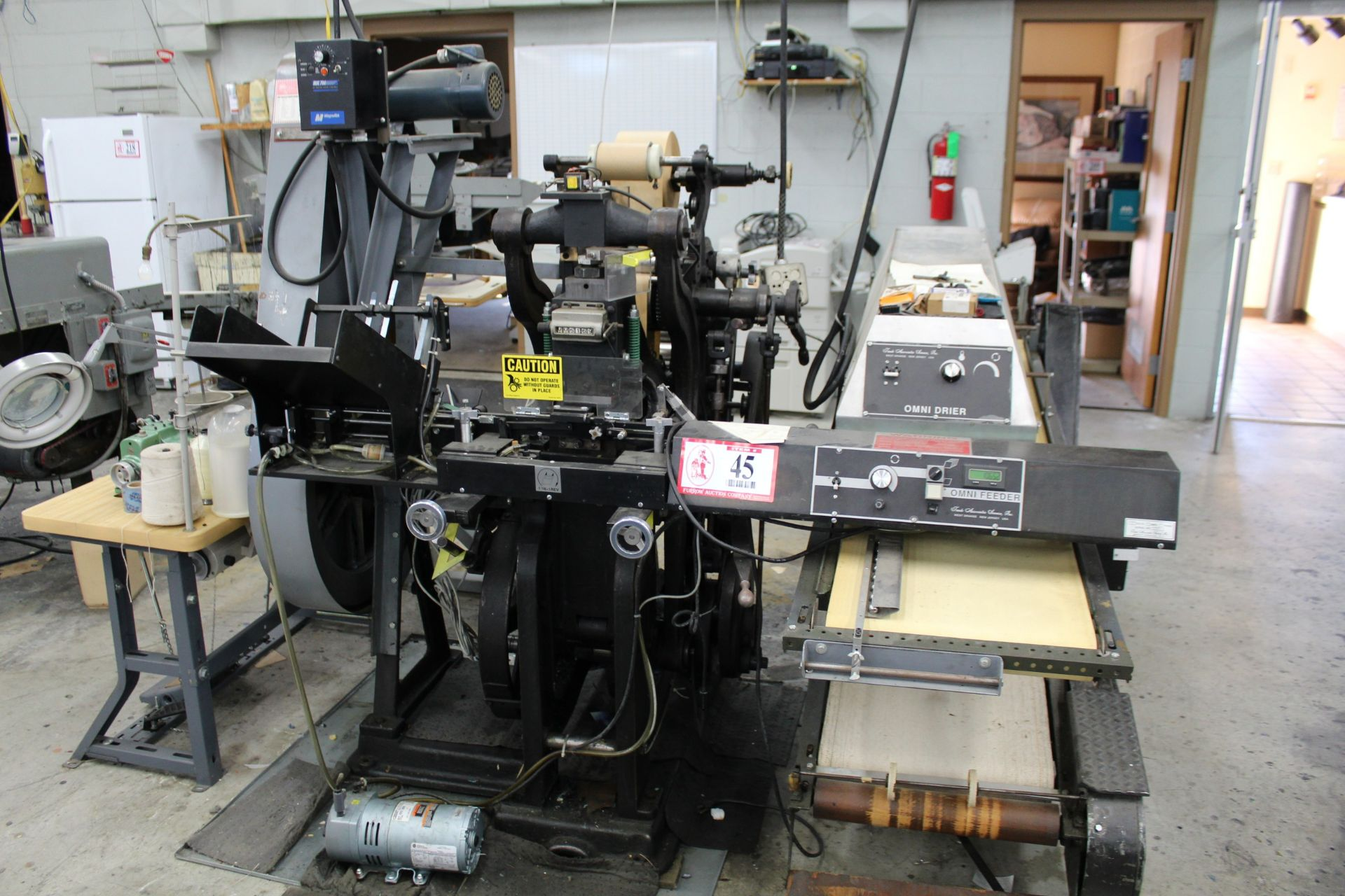Label Press w/ Omni Dryer
