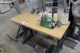 Merrow MG-3U Surger Type Sewing Machine w/ Table
