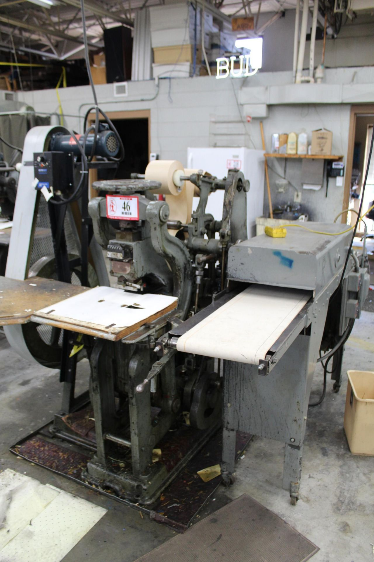 Label Press w/ Zenith Dryer