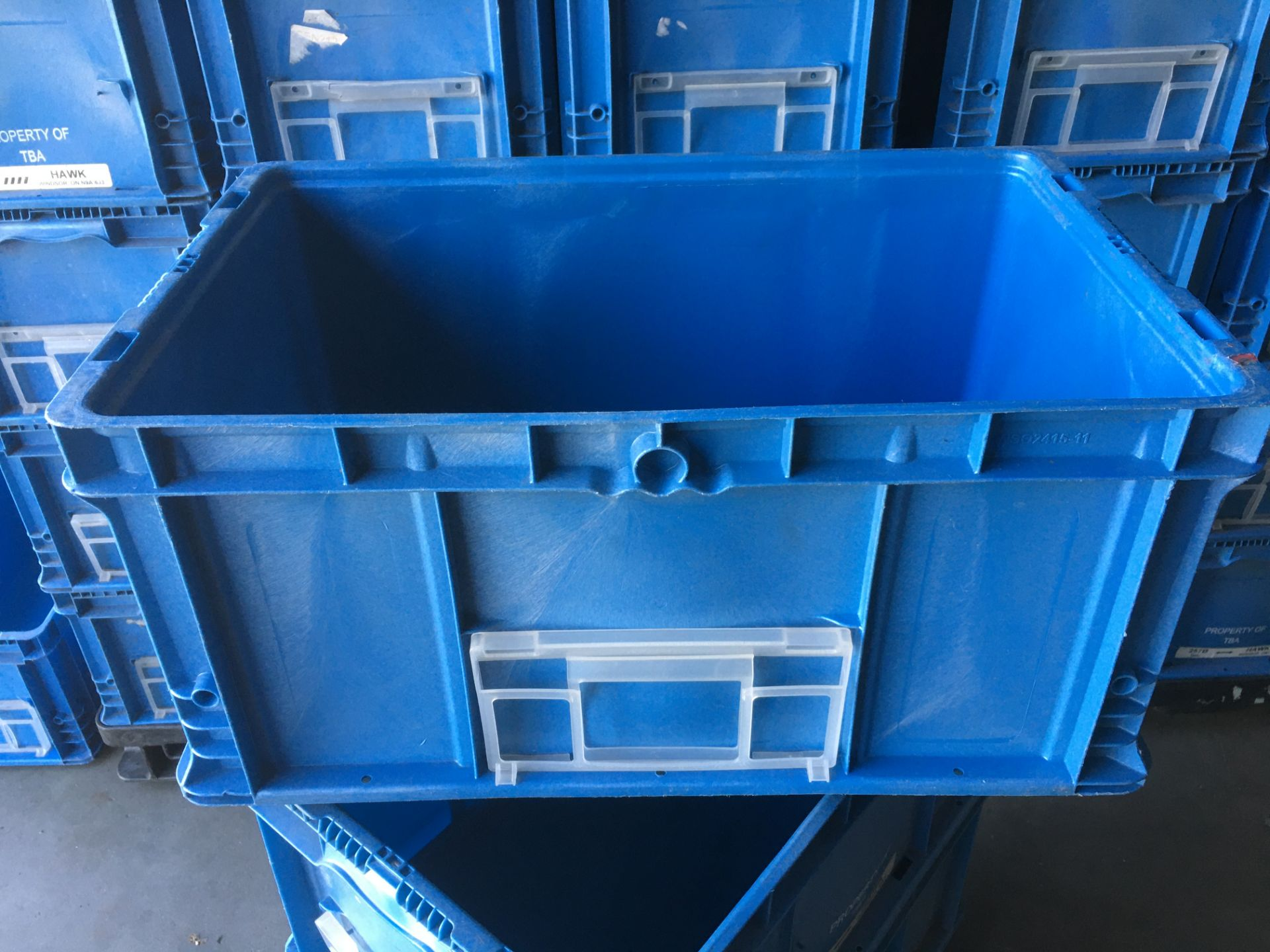 Orbis Plastic Straight Wall Container - Image 3 of 6