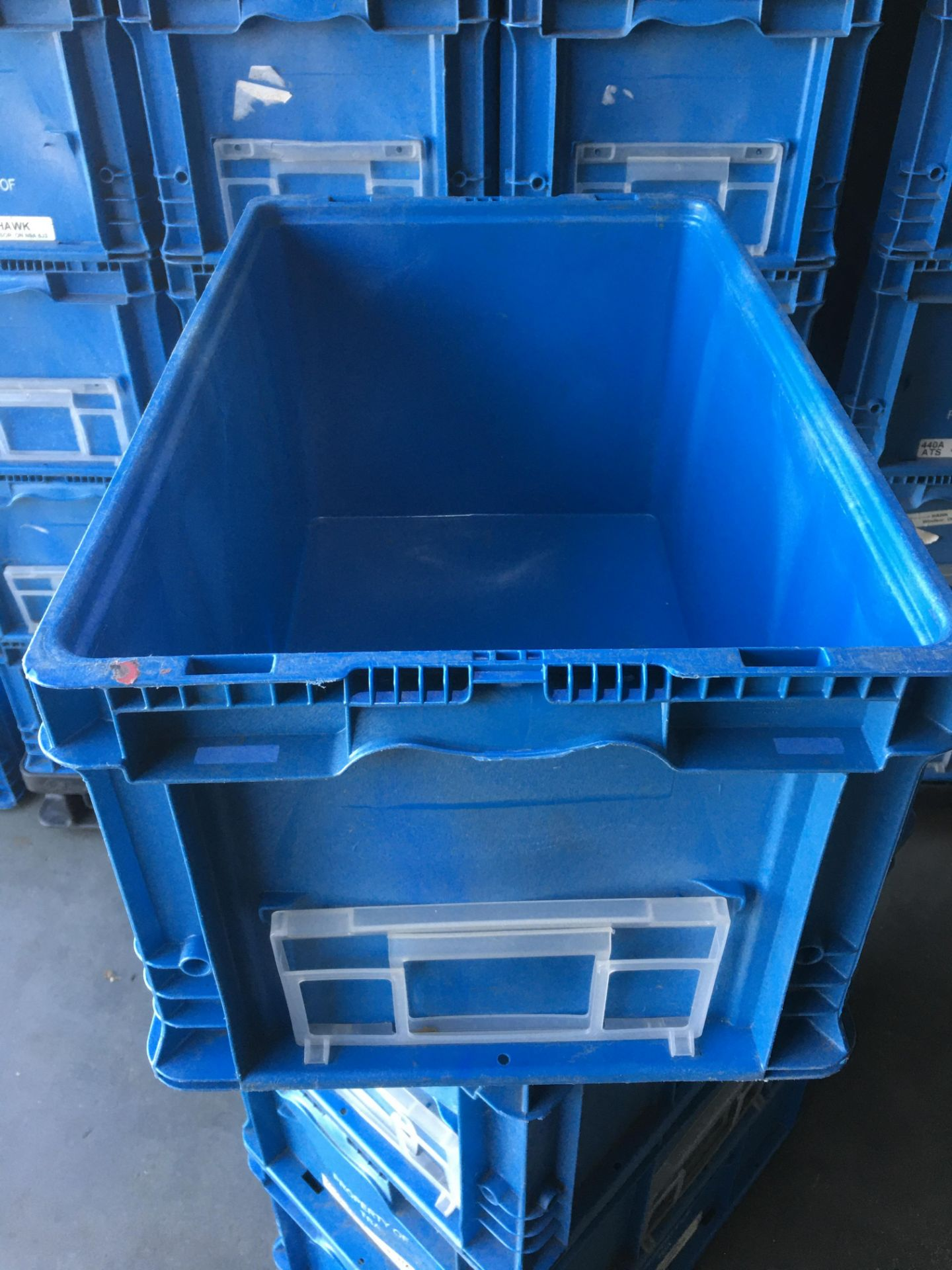 Orbis Plastic Straight Wall Container - Image 4 of 6