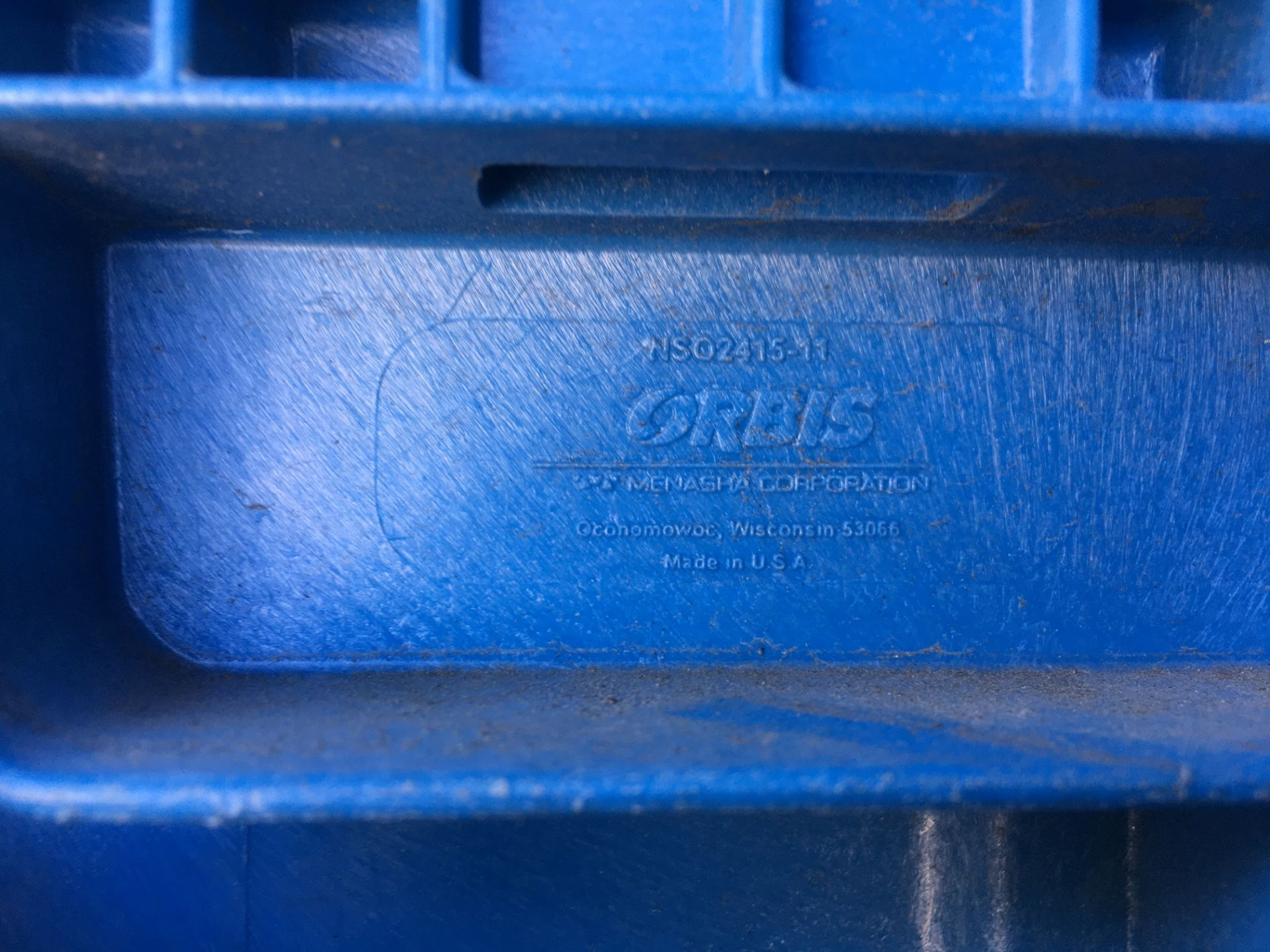 Orbis Plastic Straight Wall Container - Image 6 of 6