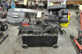 "Clarke 7"" Horizontal Metal Cutting Band Saw, S/n N/a, Portable, 1-PH"