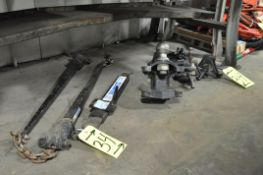 Lot-Various Hitch Accessories Under (1) Bench