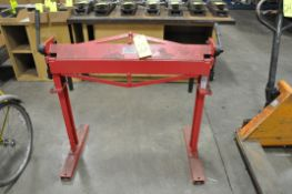 "Central Machinery Model 62335, 36"" Manual Bending Brake, S/n N/a"