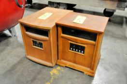 Lot-(2) Electric Heaters