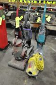 Lot-(4) Asst'd Upright Vacuum Cleaners