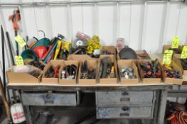 Lot-Asst'd Hand Tools in (17) Boxes