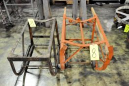 Lot-(2) Barrel Carts