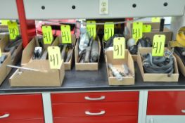 Lot-Ratchets, Sockets, Hammers, Bungee Cords, Grease Guns, etc. in (8) Boxes