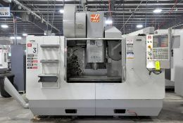 Haas Model VF3-YT/50, CNC Vertical Machining Center, S/n 1052537
