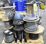 Lot-Spools of Various Industrial Wire on (2) Pallets, (Plant 2)
