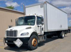 2010 Freightliner M-2, 26' x 8' Box Truck, VIN 1FVACXDT9BDAY0538,