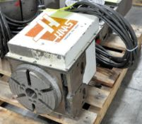 Haas HRT-21 Series T-Slotted Rotary Table, (Controller Not Included),