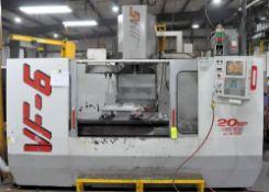 Haas Model VF-6 VMC, CNC Vertical Machining Center, S/n 13785