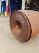 41,620 Pound Hot Rolled Steel Coil
