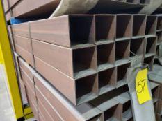 Bulk Bid: Lots 57 - 81 (14GA X 4SQ X 466 Steel Tube)