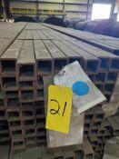Bulk Bid: Lots 21 - 55 (2 X 2 X 11GA X 24FT Steel Tube)