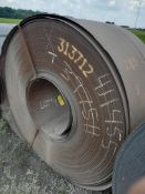 39,430 Pound Hot Rolled Steel Coil