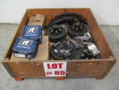 (1) LOT ASSORTED TRAILER PARTS, SPRINGS/BRAKE DRUMS