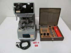 MICROMET MICRO HARDNESS TESTER, CAT N0. 1600-1000, S/N 80-M-540, 115V/1PH/60C, LOCATION, HAWKESBURY,