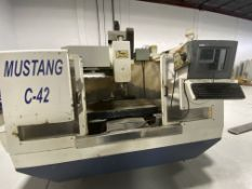 CNC MUSTANG C42 MILLING MACHINE, LOCATION, MONTREAL, QUEBEC