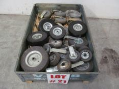 """NEW"" ASSORTED RUBBER AIR WHEELS, LOCATION, HAWKESBURY, ONTARIO"