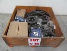 (1) LOT ASSORTED TRAILER PARTS, SPRINGS & BRAKE DRUMS, LOCATION, HAWKESBURY, ONTARIO