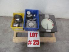 (12) ASSORTED METERS, LOCATION, HAWKESBURY, ONTARIO