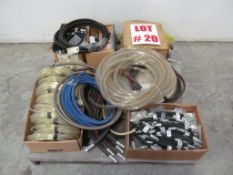 ASSORTED AIR & HYDRAULIC HOSES, LOCATION, HAWKESBURY, ONTARIO