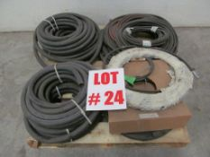 ASSORTED HYDRAULIC HOSES, LOCATION, HAWKESBURY, ONTARIO