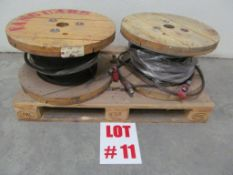 ASSORTED WIRE CABLE (2) REELS