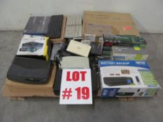 ASSORTED OFFICE ELECTRICAL SUPPLIES