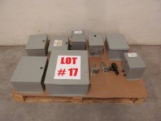 (8) ASSORTED ELECTRICAL BOXES (EMPTY)