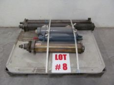 (5) ASSORTED AIR CYLINDERS