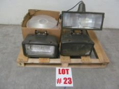 ASSORTED ELECTRICAL LIGHTING