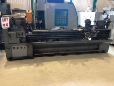 YANG ACE LATHE, S/N 12106, 21'' X 94'', LOCATION, MONTREAL, QUEBEC