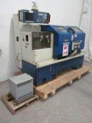 PRIMERO CNC LATHE, MODEL PL-1840, C/W FAGOR CNC CONTROL & ELECTRICAL TRANSFORMER, CAPACITY 18'' X