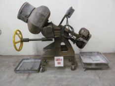 SINGER MFG. DEBURRING MACHINE, NO. 3307, 1 HP, C/W MEDIA STONES, LOCATION, HAWKESBURY, ONTARIO