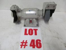6'' BENCH GRINDER, 1/2 HP, 115V/1PH/60C, LOCATION, HAWKESBURY, ONTARIO