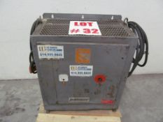 LAMARCHE BATTERY CHARGER, 36 VOLTS, 550V/3PH/60C, LOCATION, HAWKESBURY, ONTARIO