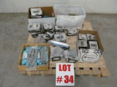 (LOT) ASSORTED ANCHOR LAG BOLTS & NUTS