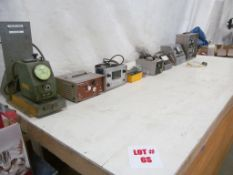 (LOT) ASSORTED METERS & TESTERS (8 UNITS)