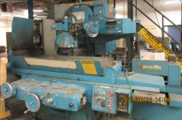 GRAND RAPIDS HYDRAULIC SURFACE GRINDER MODEL 570 C/W BARNES COOLANT & FILTER SYSTEM,, LOCATION, IN