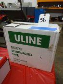 LOT 8 ROLLS ULINE DELUXE REINFORCING TAPE