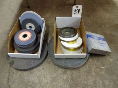 LOT ASSORTED GRINDING WHEELS
