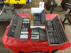 LOT ASSORTED DRILL INDEXES