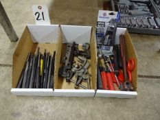 LOT ASSORTED HAND TOOLS (3 BOXES)