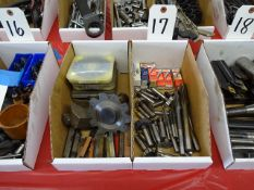 LOT ASSORTED CUTTING TOOLS